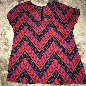 Tribal print blouse